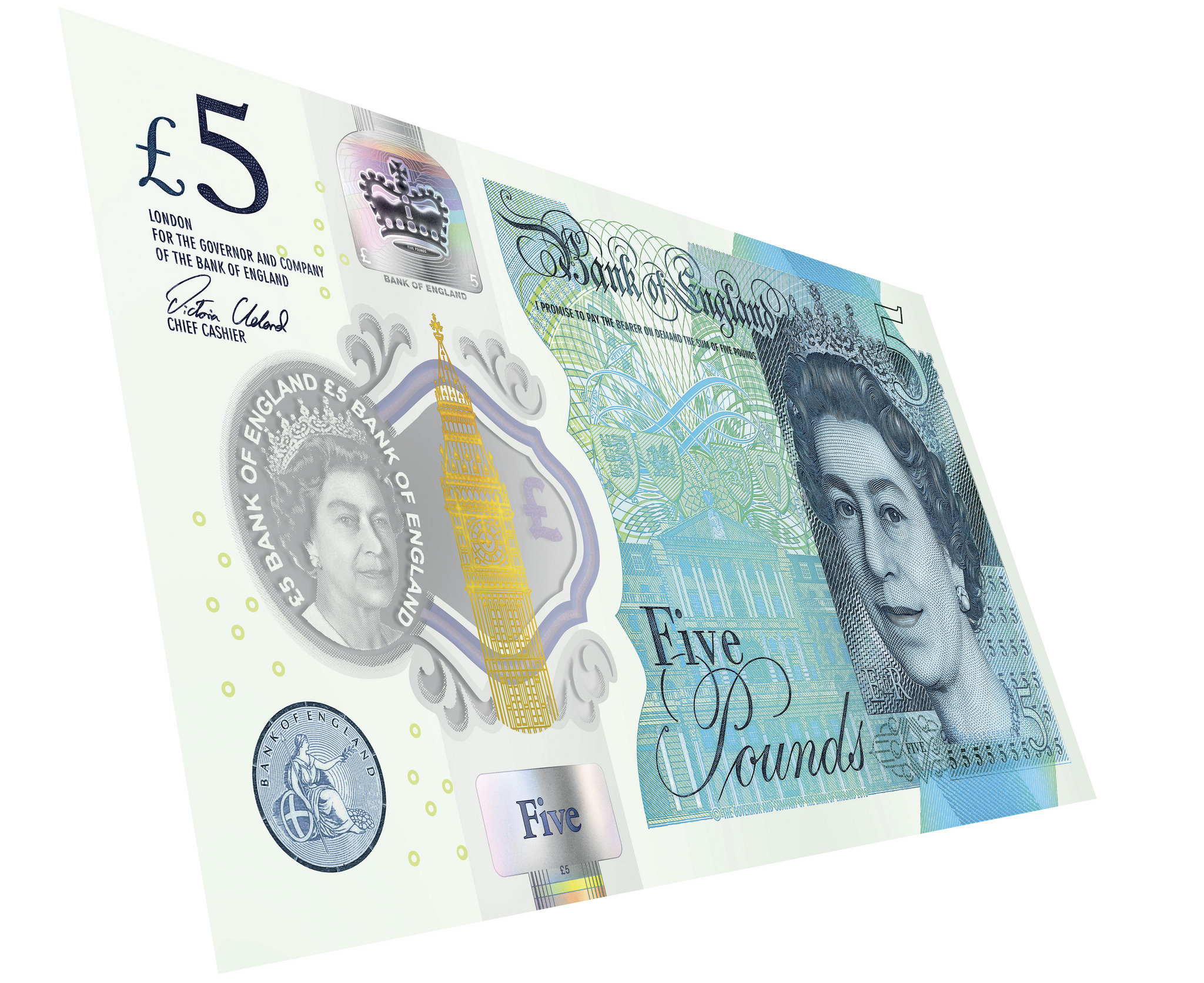 Last chance to use old paper £5 notes